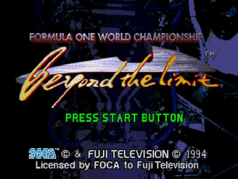 Formula One Beyond the Limit