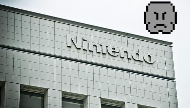 Nintendo - nuvens negras