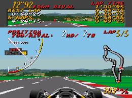 Mega Drive Super Monaco GP