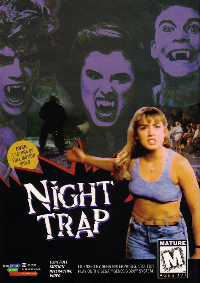 Night Trap capa
