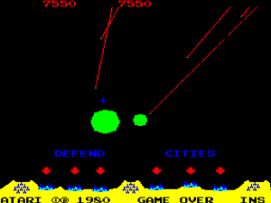 missile command demostration