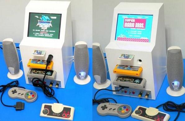 retroconsole mod PC Engine, NES e SNES
