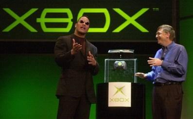 CES 2001 Xbox unveil Laura Rauch