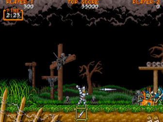Ghouls n Ghosts fase 1