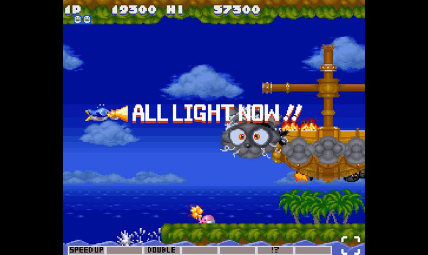 Parodius: Non-Sense Fantasy (Super NES)