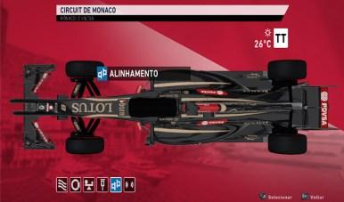 f1 2014 setup car