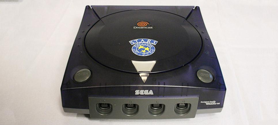 Dreamcast Biohazard Code Veronica S.T.A.R.S