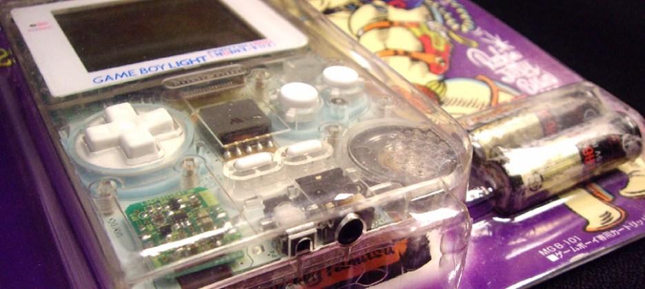 Game Boy Light Famitsu