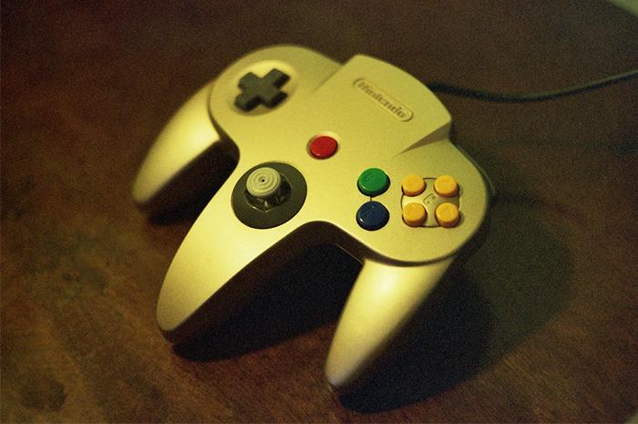 controle do Nintendo 64