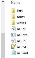 Arquivos do M1