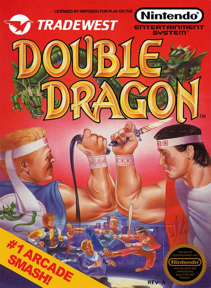 Double Dragon (NES) cover
