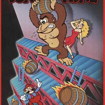 Donkey Kong arcade poster