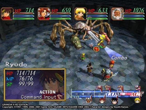 Grandia II HD