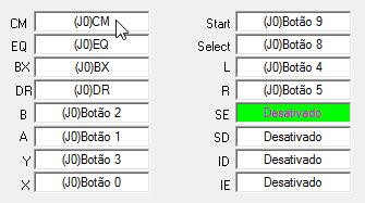 snes9x controle configurado