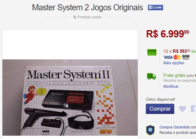 master system mercadolivre