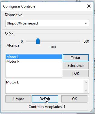 xbox controle wii gamecube dolphin motor vibracao
