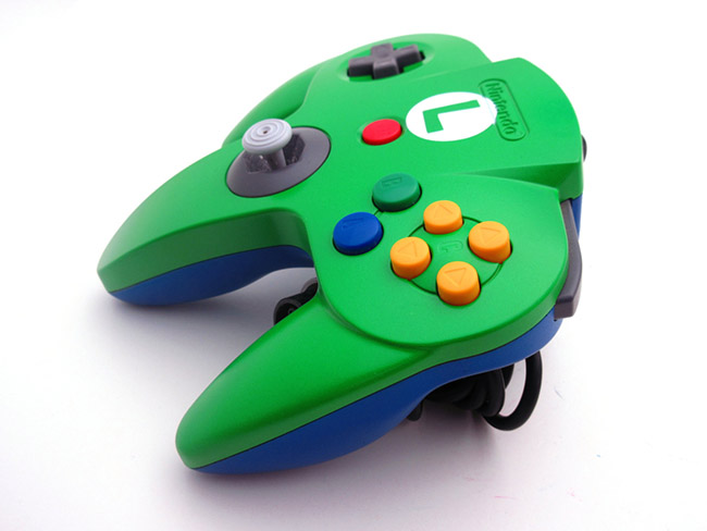 N64 Luigi Controller