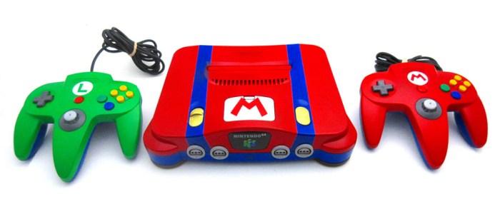 N64 Mario e Luigi