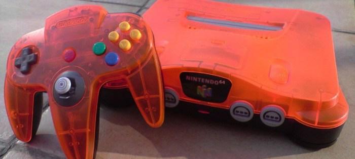 [Tópico Oficial] A Historia de cada Videogame.  Nintendo-64-Daiei-Hawks-Orange