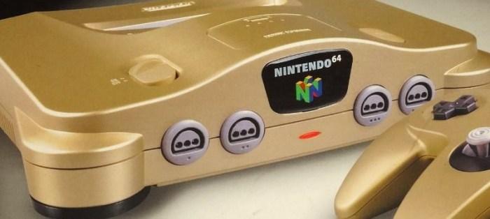 [Tópico Oficial] A Historia de cada Videogame.  Nintendo_64_Golden