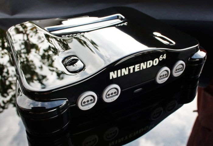 custom piano black nintendo 64 zoki64 1