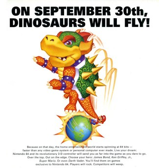 n64 dinosaurs will fly