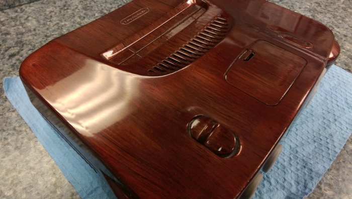 nintendo 64 wood grain de twinstarretrogaming