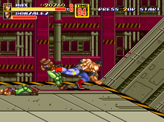 Max Streets of Rage 2