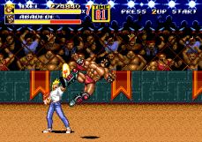 Streets of Rage 2 Abadede