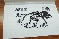 game watch octopus sketch