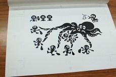 game watch octopus sketch