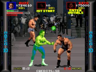 Os inimigos se repetem, e o monstrengo Chainman Eddie aparece em dupla.
