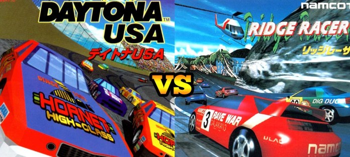 ridge racer vs daytona usa