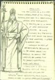Conceito de Shang Lao, mais tarde Shang Tsung.