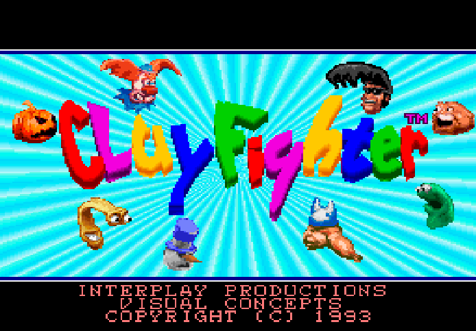 clayfighter snes tela titulo
