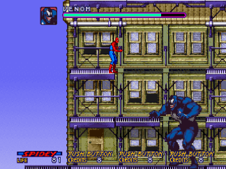 Spider-Man The Video Game Venom