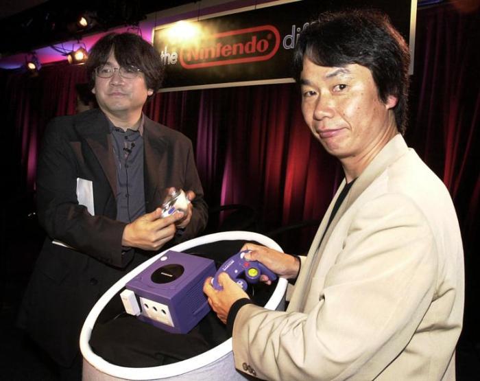 satoru iwata e shigeru miyamoto