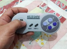 review wireless gamepad snes tamanho