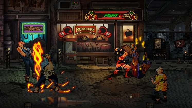 Cena de Streets of Rage 4