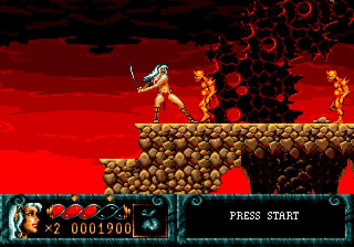 Blades of Vengeance Mega Drive