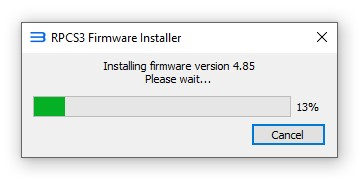 rpcs3 instalando firmware