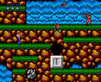 Contra NES stage 3