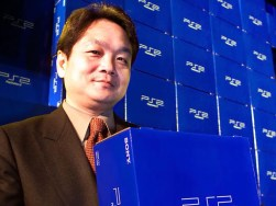 ken kutaragi com o playstation 2 afp via getty