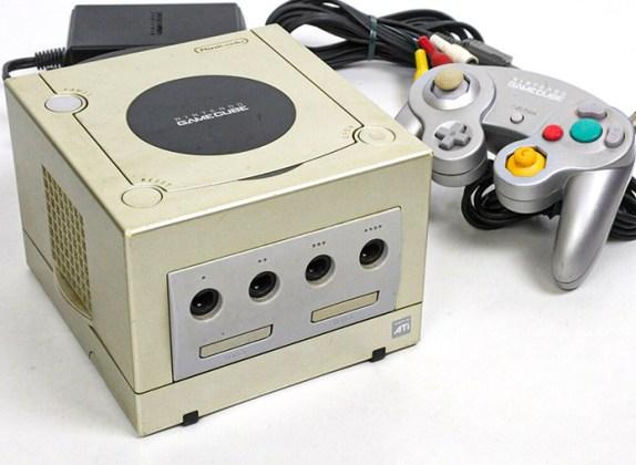 GameCube Star Light Gold
