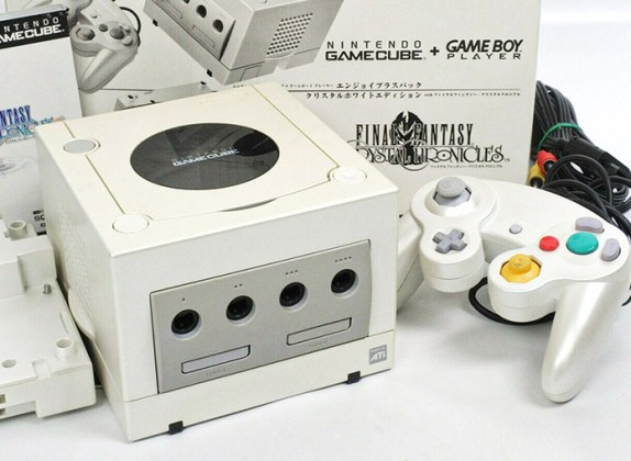 GameCube White Final Fantasy Crystal Chronicles
