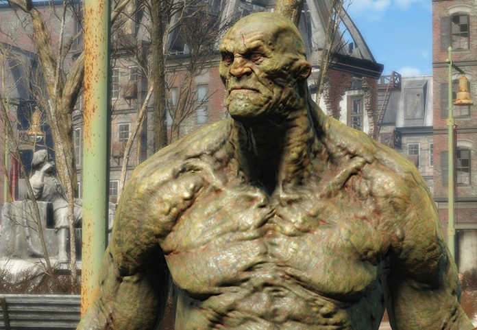 strong fallout 4