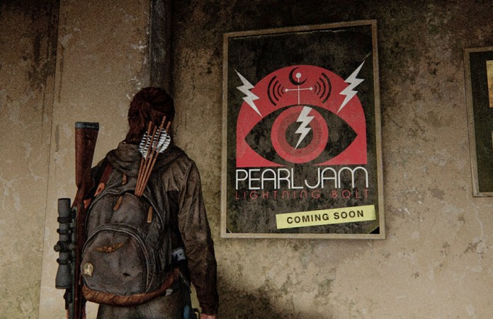 the last of us part ii pearl jam poster