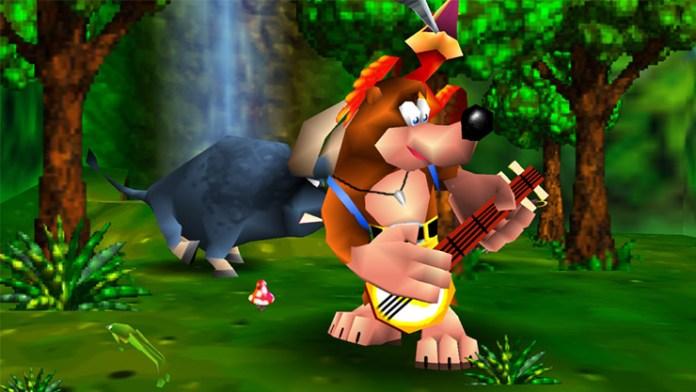 cena de banjo kazooie
