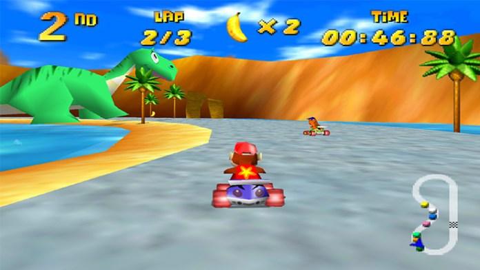 cena de diddy kong racing