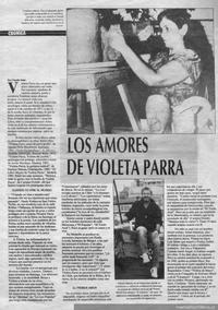 Los amores de Violeta Parra